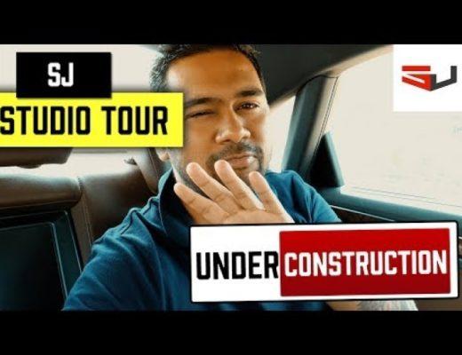 SJ Studio Tour – Under Construction – vLog #6