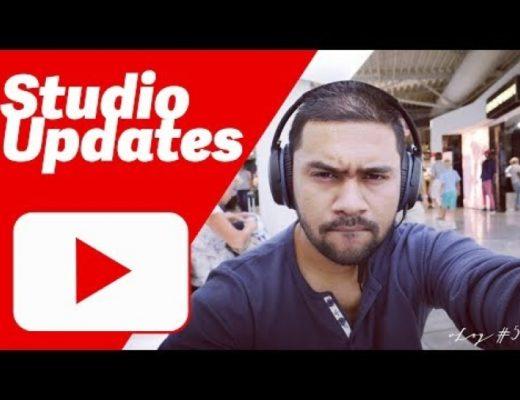SJ YouTube Studio Updates & Pictures – vLog #5