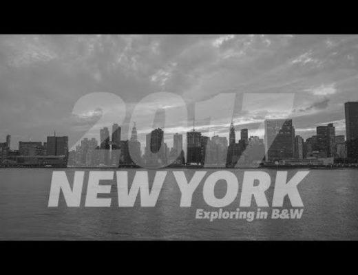 Exploring New York in B&W