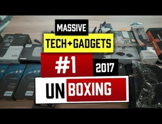 Massive Tech Unboxing #1- Sept 2017