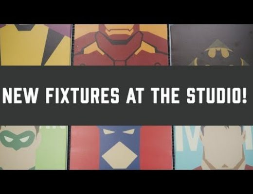 New Fixtures at the Studio – Timelapse vLog #8