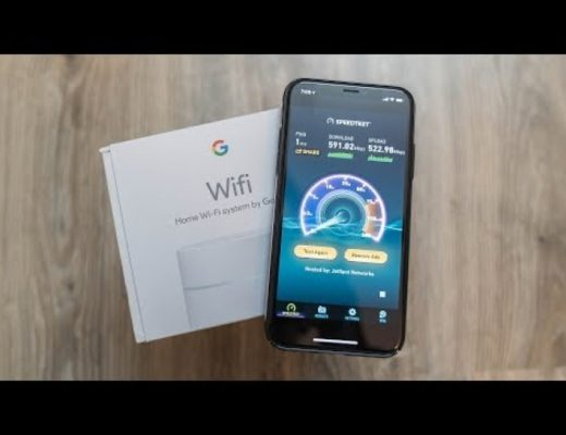 Google WiFi 1Gbps Internet Speed Test in India!