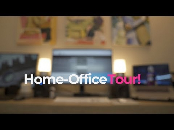 My Home-Office Tour!