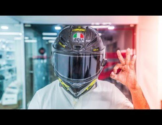 The ₹20,000 Electronic Helmet VISOR!
