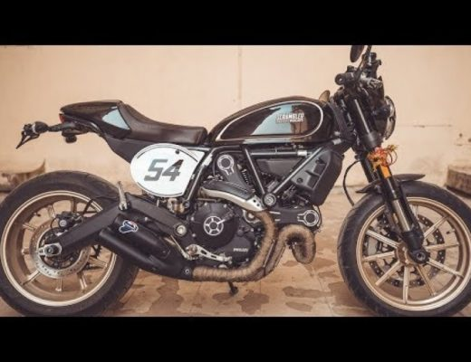 Ducati Scrambler Cafe Racer – Installing the Accessories!