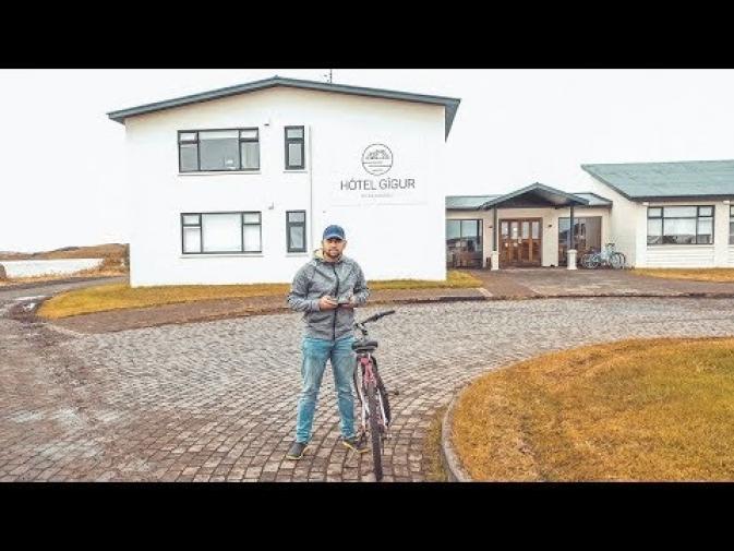 PLAYING WITH THE DRONE IN ICELAND