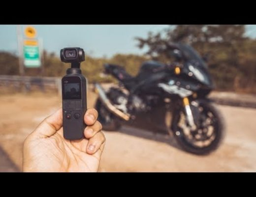 DJI Osmo Pocket for MOTORCYCLE ?