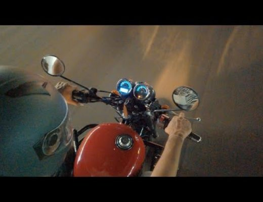 DJI OSMO POCKET on Royal Enfield Thunderbird 350X