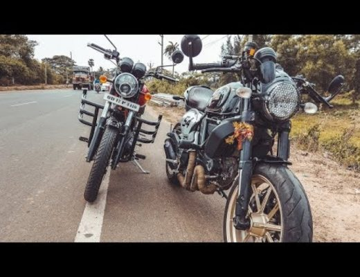 DUCATI SCRAMBLER & ROYAL ENFIELD 350x RODE TOGETHER.
