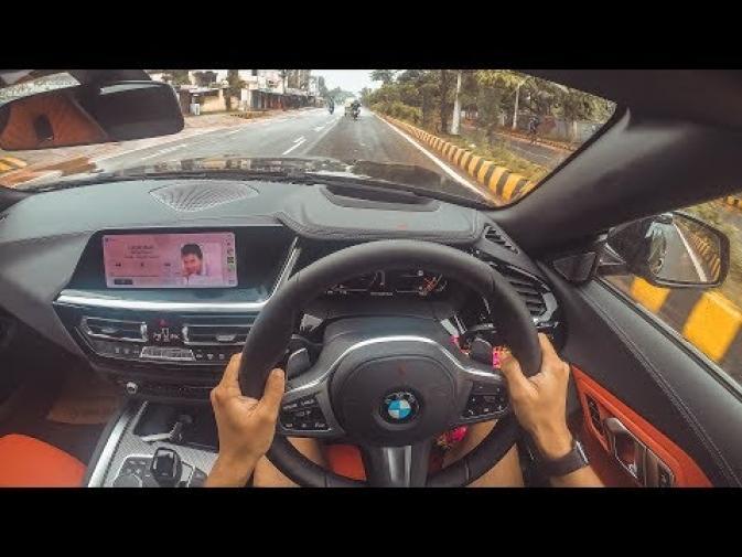 FIRST RIDE on BMW z4 M40i