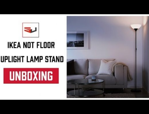 UNBOXING : Ikea NOT Floor Uplight Lamp Stands!