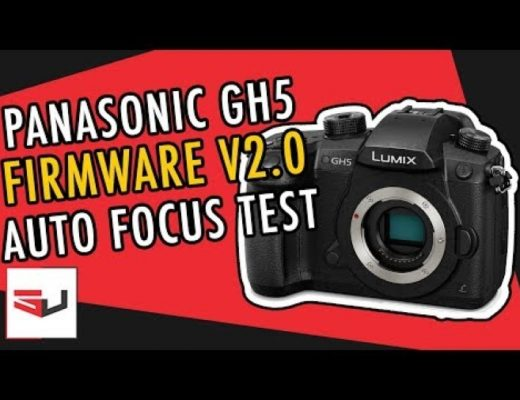 PANASONIC GH5 – Auto Focusing Test for VLOGGERS!
